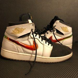 Jordan 1 High Multicolor Size 10